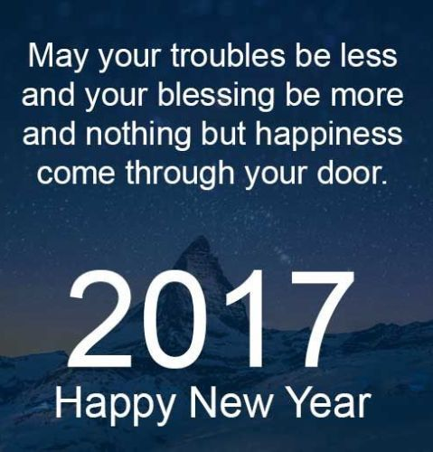 Happy New Year 2017 Quotes, Wishes, Greetings, Messages And SMS For  Facebook, Whatsapp U0026 Pinterest