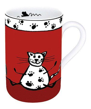 Cat Animal Stories Mug - Set of Four by Könitz: