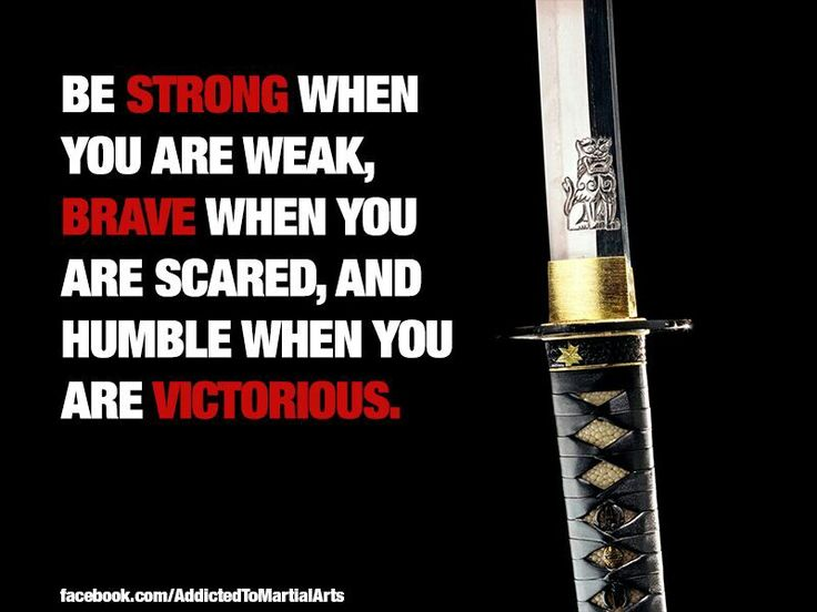 Martial arts. This quote is very inspiration and it spoke to me in several ways. One way is because I've been through some hard times in TaeKwonDo, such as knee surgery to hold me back, but I had to keep going. And this quote is very inspirational because this is what my instructor used to tell me.