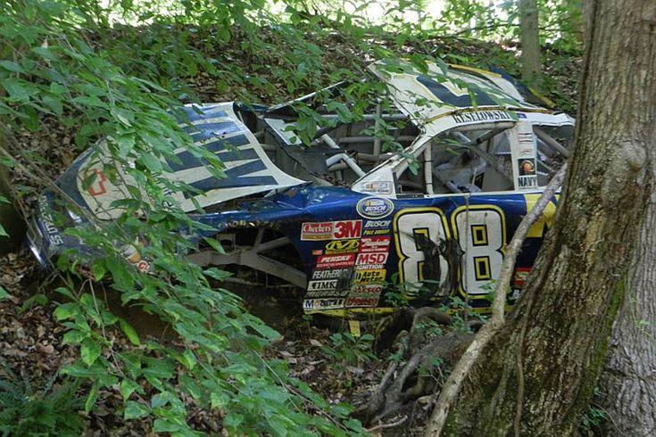 Dale Earnhardt Junior Race Car Graveyard