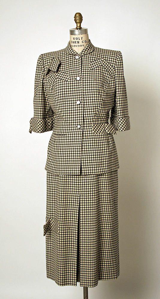 Suit - Gilbert Adrian 1947