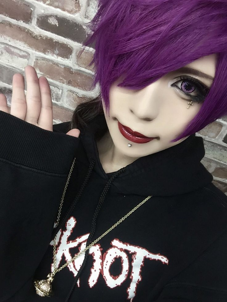 Visual Kei; makeup+hair                                                                                                                                                                                 More