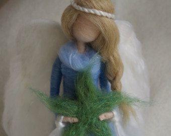 Needle Felted Nativity Set Christmas by ClaudiaMarieFelt on Etsy