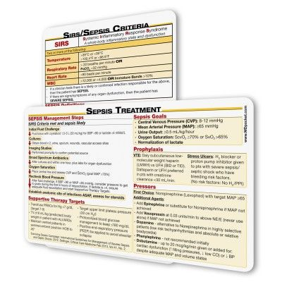SIRS/Sepsis Card