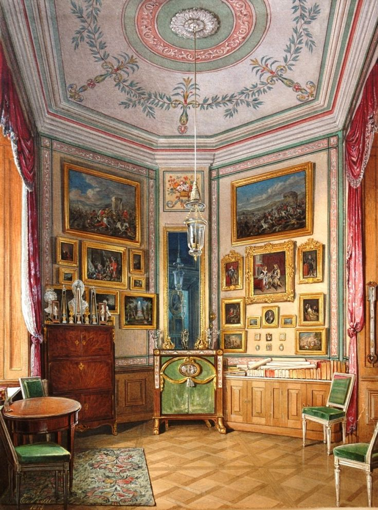 News : To press : Gatchina state museum. Find this Pin and more on 19th  century interior ...