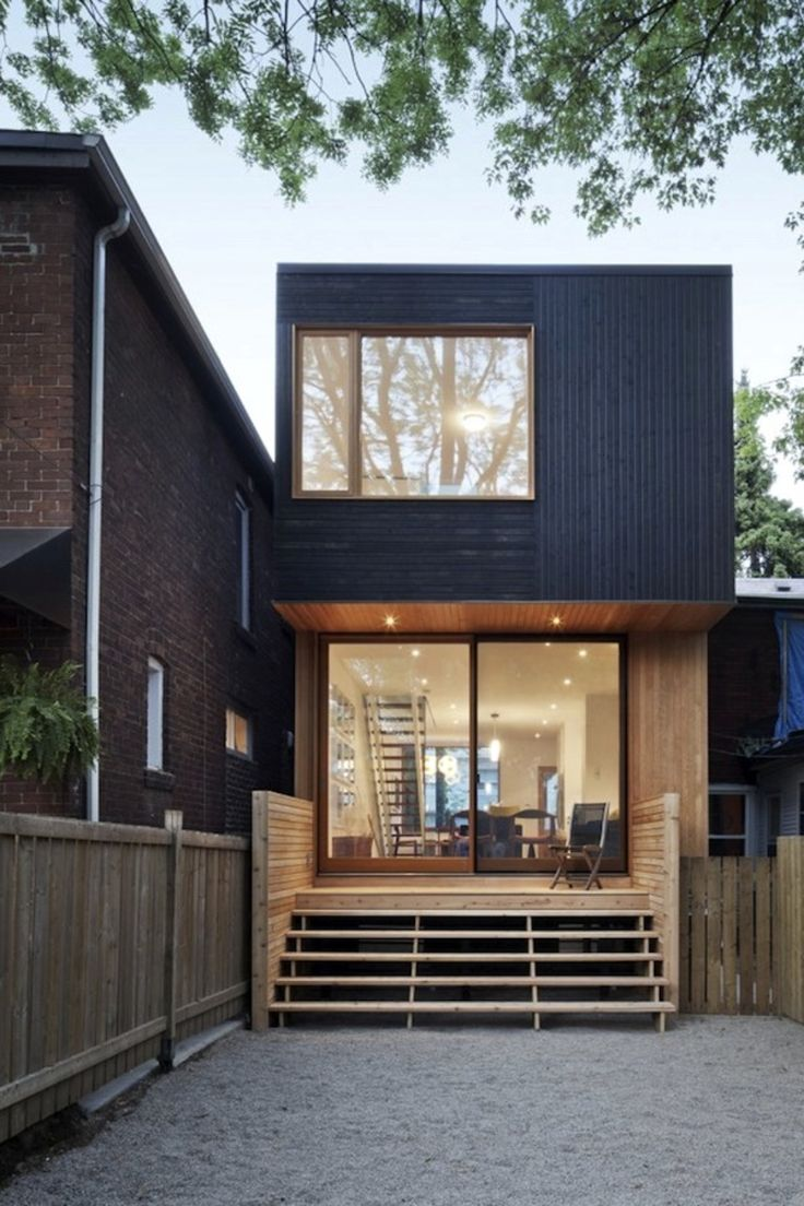 Architects Make Over Downtown Toronto, One Modern House At A Time - Architizer