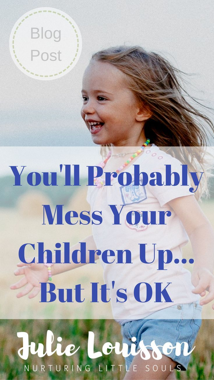 As parents we all worry sometimes that we're not doing it right or how our children will turn out.  #julielouisson #spiritualparenting #parenting #consciousparenting
