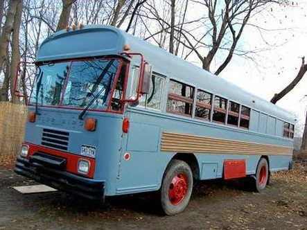 Our big thanks to Dan for sharing this $18k converted school bus RV for sale in Loveland, Colorado. It's a 40' long 44 passenger 1990 Bluebird School Bus with a Cummings diesel engine. It has 130,0...