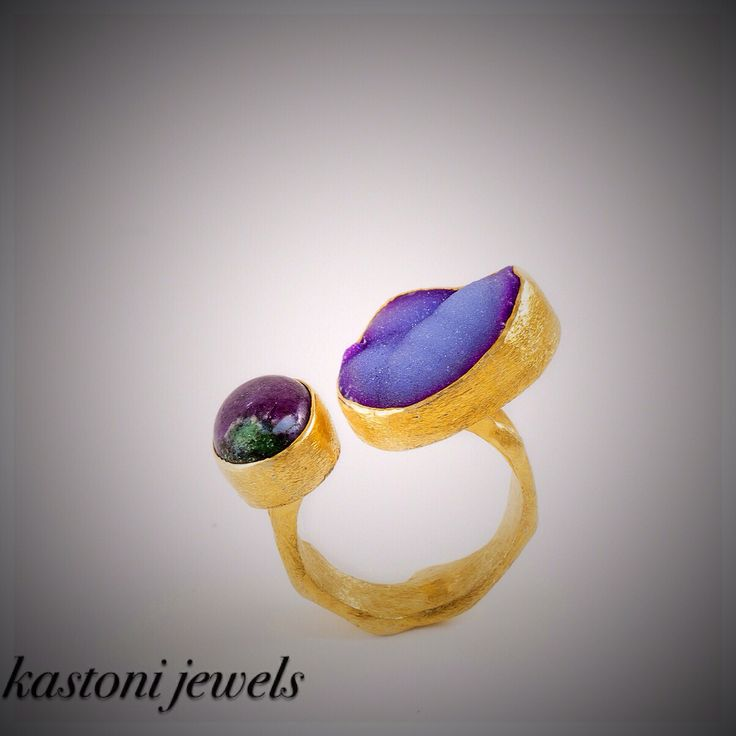 #kastonijewels #gemstone #ring #handmade #agate #ruby #jewels