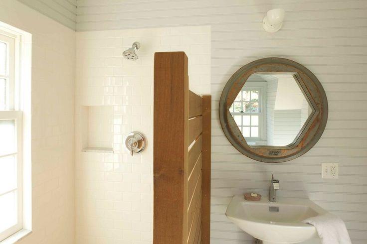 ipe wall  bathroom farmhouse with shower niche light wood bathroom vanities with tops