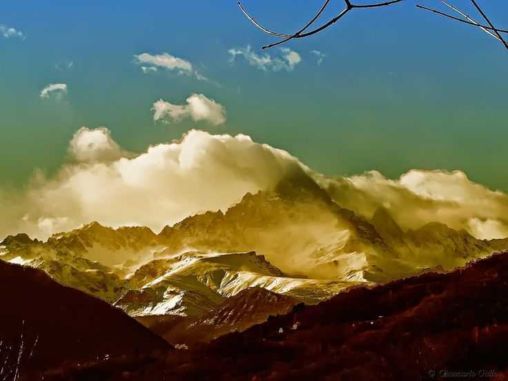 Snow Alps by Giancarlo Gallo