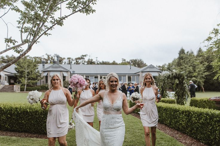 Tiffany and her bridesmaids