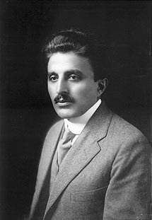 "Amin Rihani (1876 – 1940) was a Lebanese Arab-American writer, intellectual and political activist. He was also a major figure in the ""mahjar"" literary movement developed by Arab emigrants in North America, and an early theorist of Arab nationalism. He became an American citizen in 1901.    http://en.wikipedia.org/wiki/Ameen_Rihani    ""Like matter itself, an ideal is mutable, but indestructible. It does not die; it only undergoes a change."""