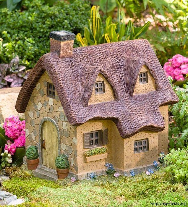 его декоративные домики для сада фото туристов