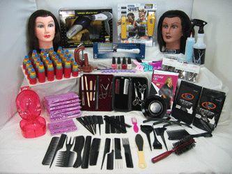 Cosmetology Kit #7 w/ Suitcase