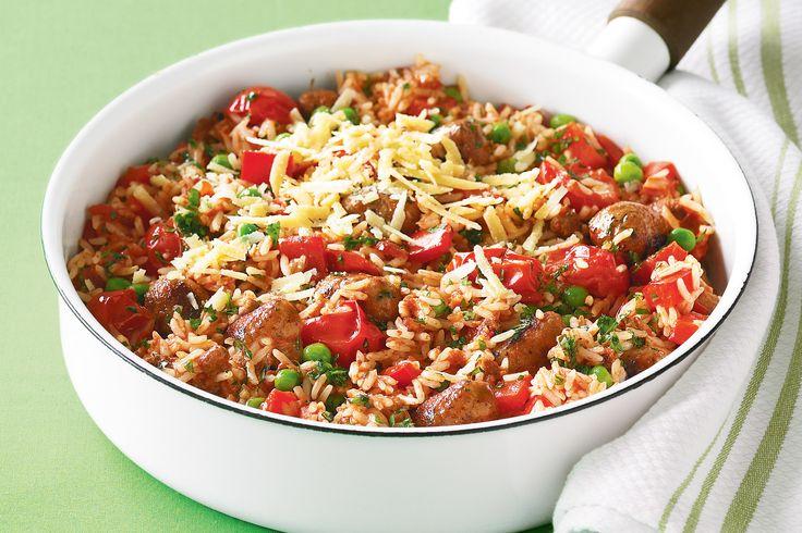 One-pot Italian Sausage Rice Recipe - Taste.com.au
