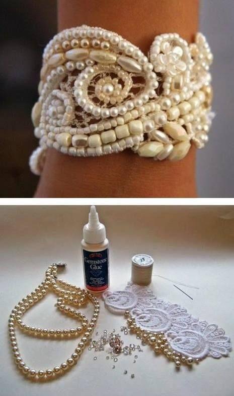 Awesome idea for beautiful a bracelet