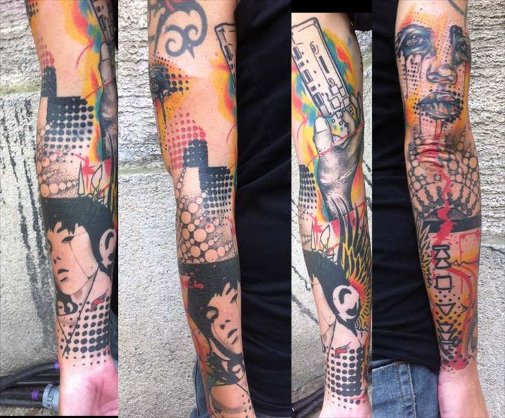 74 best images about selection of my work on pinterest for Graffiti tattoos sleeves