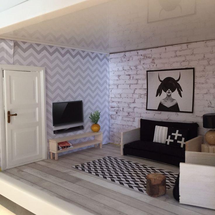Lundby Dollhouse Makeover