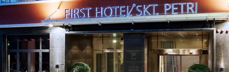 Hotel Skt Petri, my favorite hotel in Copenhagen.