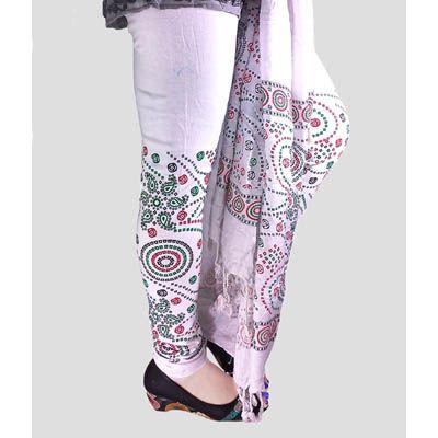 Buy Fashion LifeStyle White Cotton Legging With Dupatta by Fashion LifeStyle, on Paytm, Price: Rs.489?utm_medium=pintrest