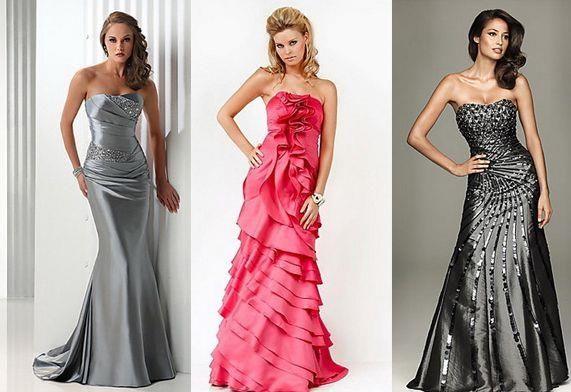 Модель платье для выпускного вечера