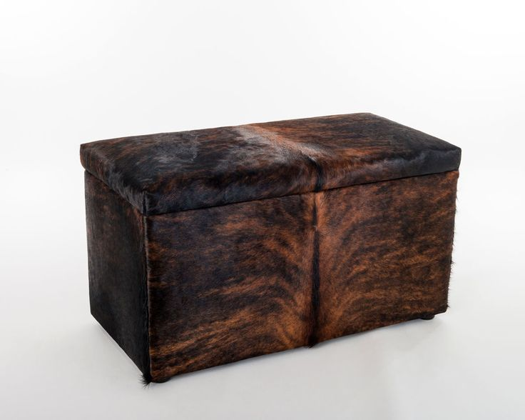 21 Best Cowhide Ottomans Images On Pinterest Cowhide