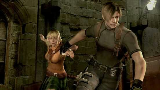 Leon Kennedy And Ashley Graham.