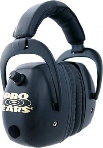 Pro Ears - Pro Mag Gold - Electronic Hearing Protection and Amplification - NRR 30 - Shooting Range Ear Muffs