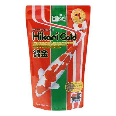 Hikari Gold Koi Fish Food Large Pellets 17.6 oz