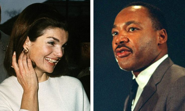 'That man's terrible': Secret Jackie Kennedy tapes reveal her disgust over Martin Luther King's 'sex party'  It has been said that Jackie Kennedy hated Martin Luther King so much she could barely look at photographs of him.   In interviews taped in 1964 but only just released, she said the black civil rights leader was a 'terrible man' and a 'phoney'.  She claimed King bragged of being drunk at her husband John F Kennedy's funeral and had been caught trying to set up an orgy.