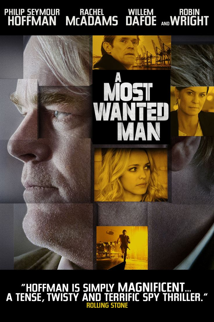 Phillip Seymour Hoffman stars in this action-thriller from spymaster John Le Carre. German and U.S. intelligence agencies race to uncover the identity of a mysterious man. Stars Philip Seymour Hoffman & Rachel McAdams. A Most Wanted Man is now playing on GCI Video on Demand.