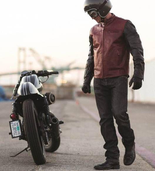 Blouson moto vintage - Kulture Moto