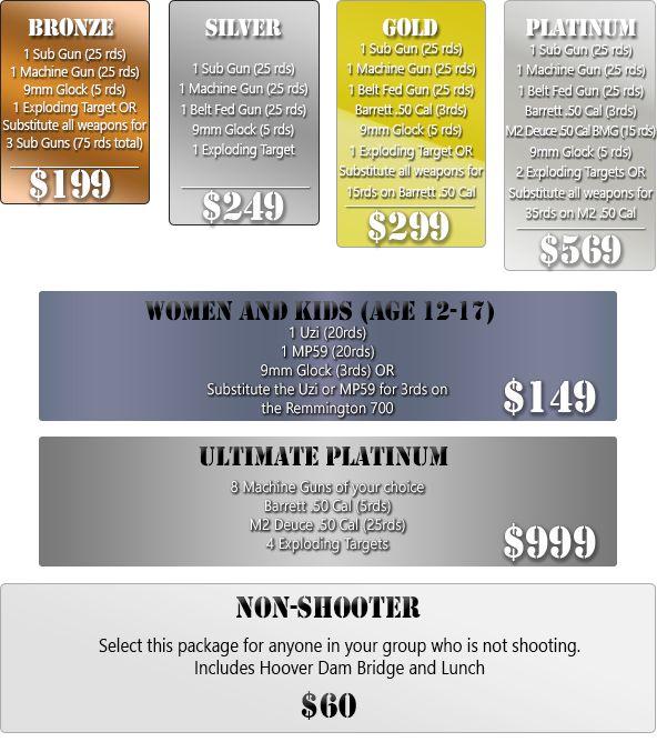 Shooting range coupons las vegas