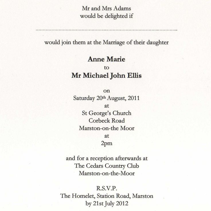 43 best Wedding Invitation images on Pinterest | Invitation ideas ...