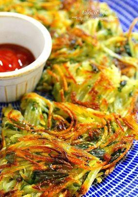 簡単!バジルとジャガイモのガレット potatoes basil