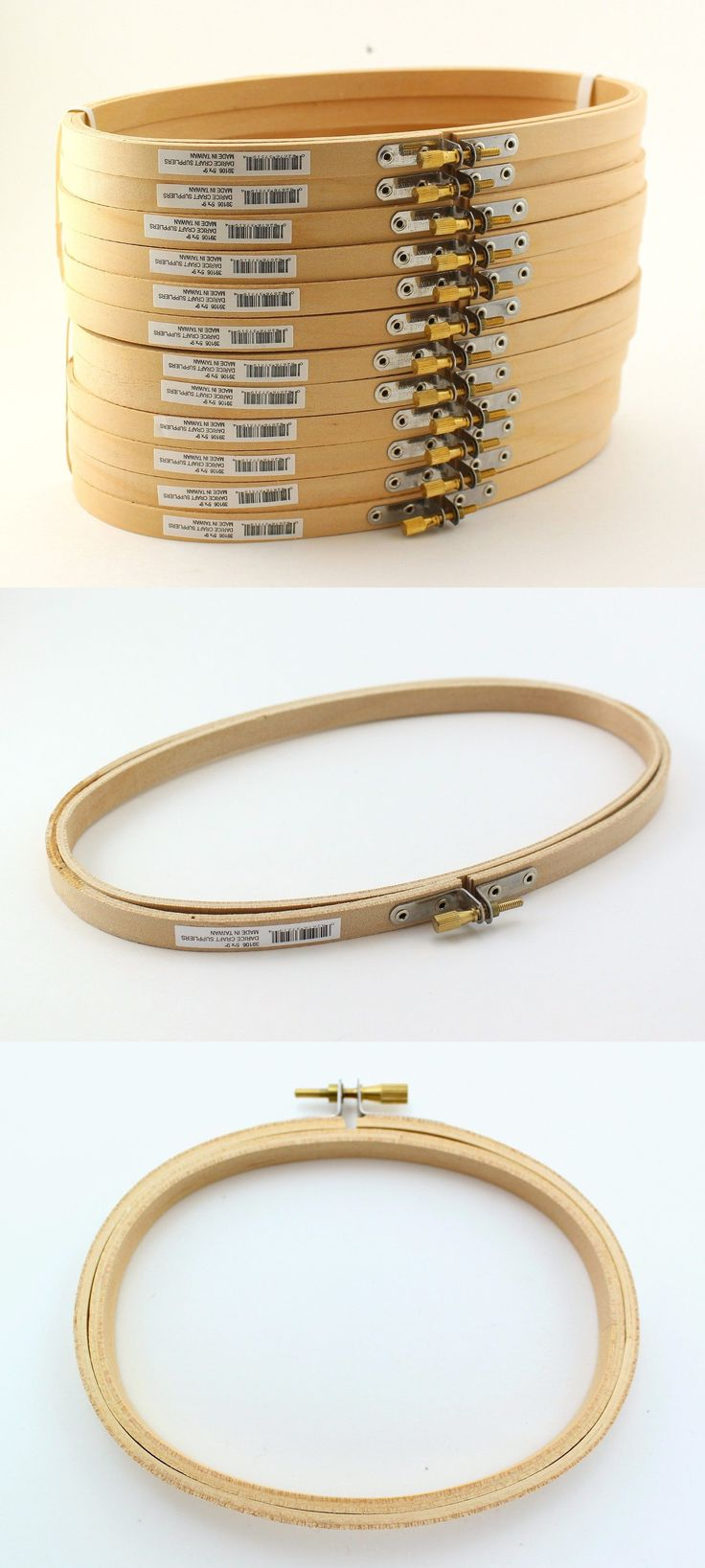 """Darice Wood Embroidery Hoop 12/"""""""