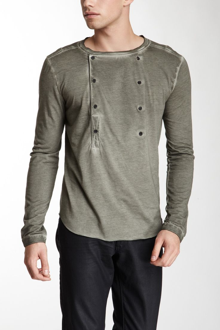 Black t shirt tambah lagi - Sultan Button Detail Shirt