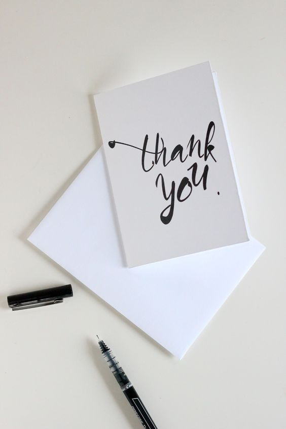 The 25+ best Thank you letter ideas on Pinterest Thank you notes - non profit thank you letter sample