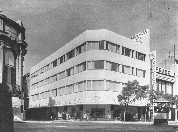 Nordiska Kompaniet, año 1935. Buenos Aires, Argentina