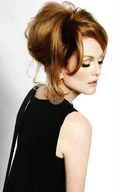 Julianne Moore for Tom Ford (aka super chic ginger). Moved 23 times before she turned 18 because her father was a lawyer in the army. The actress went to 9 schools                                                                                                                                                     More