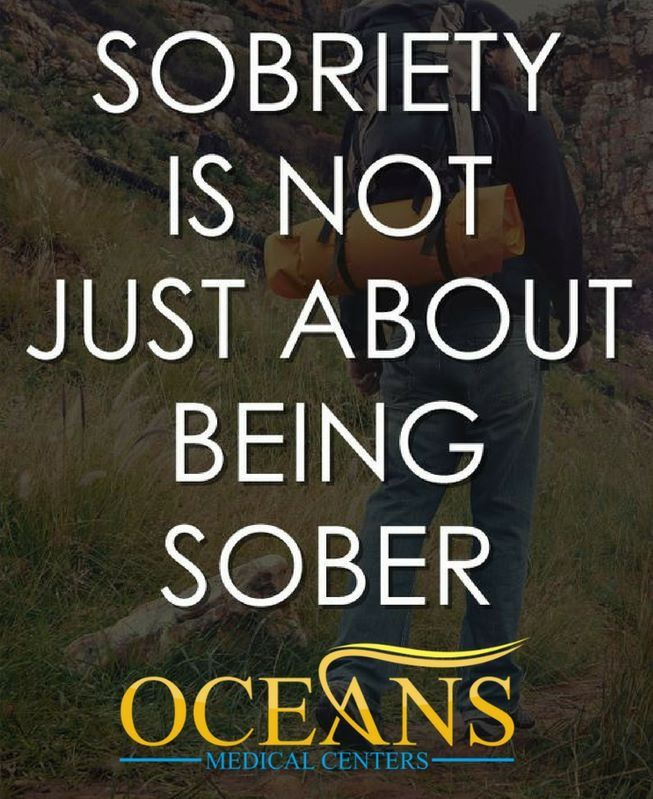 #Sobriety Is Not Just About Being #Sober
