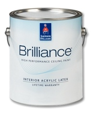 brilliance high performance ceiling paint provides effortless one coat coverage timesaving self exterior productswall finishesproduct - Best Exterior Paint Finish