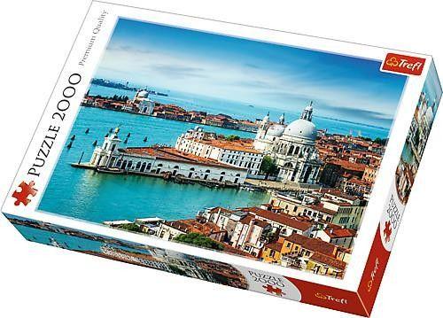Puzzle 2000 mcx - Venise Italie - Castello | Jeux et Jouets