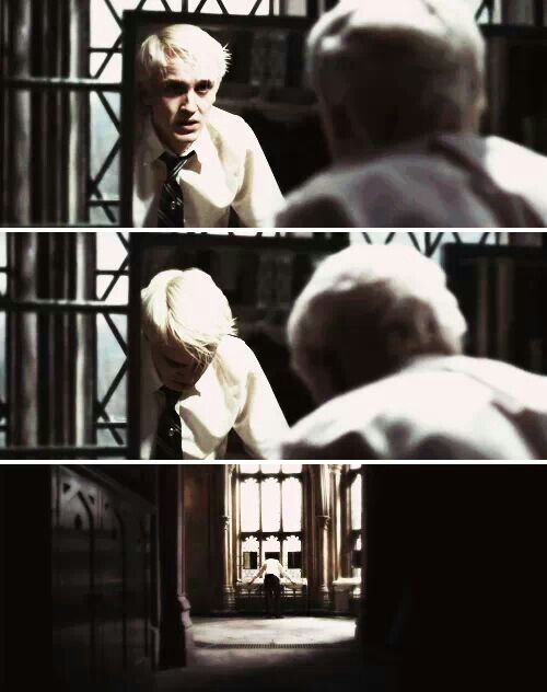 Draco Malfoy | Harry Potter Wish I could be there to give him a hug....