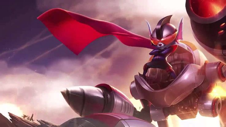 Super Galaxy Rumble League Of Legends Login Screen With Music(+재생목록)