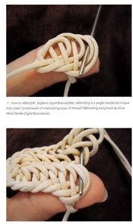 How to nalbind knit