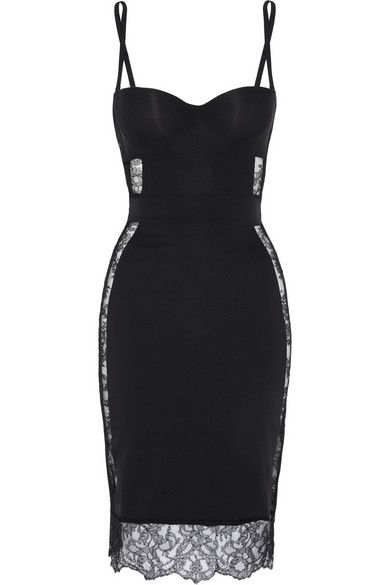 La Perla, love the top on this, if only it were white and flared into a mermaid skirt, It would be perfect