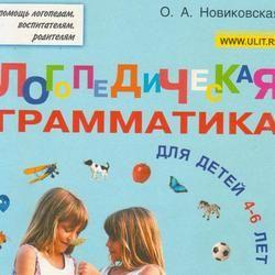 Грамматические игры с детьми 4 - 6 лет. Логопедическая грамматика