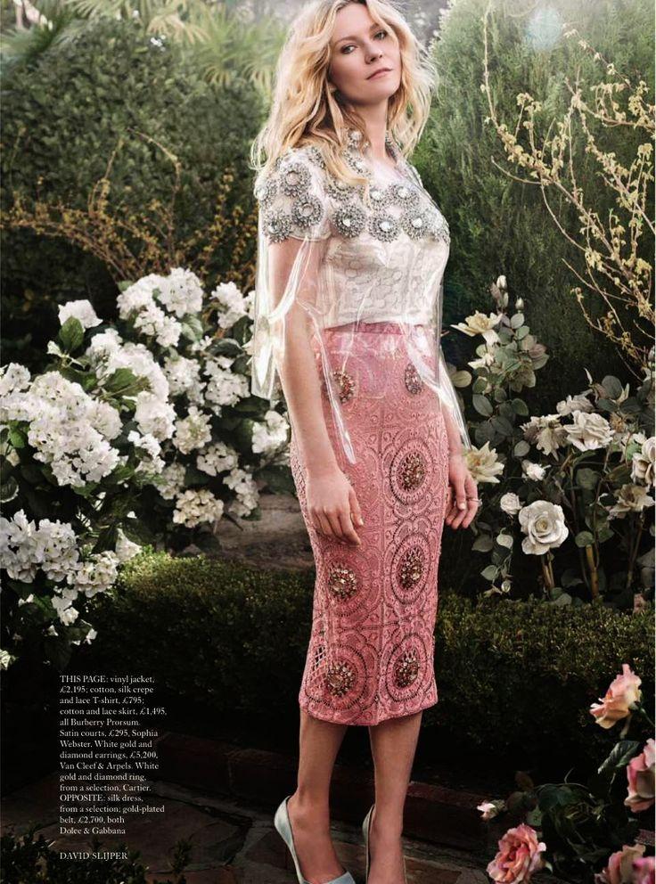 Kirsten Dunst by David Slijper for Harper's Bazaar UK May 2014